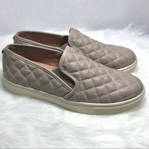 Steve Madden Quilted Slip On Sneakers